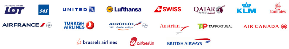 bilety na wszystkei linie lotnicze Bydgoszcz Cross Travel